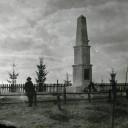Renowacja pomnika poległych w 1920 roku w Łopatynie na Ukrainie