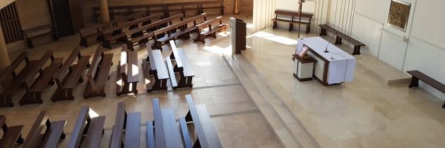 Nowe ławy kościelne dla parafii w Grzegorzewie na Litwie