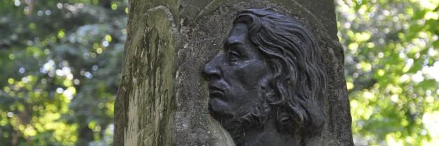 Renowacja pomnika Adama Mickiewicza w Zbarażu