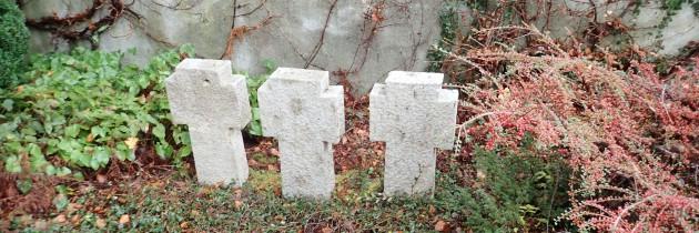 Udana renowacja kwatery grobowej na cmentarzu parafialnym w Murnau w Niemczech